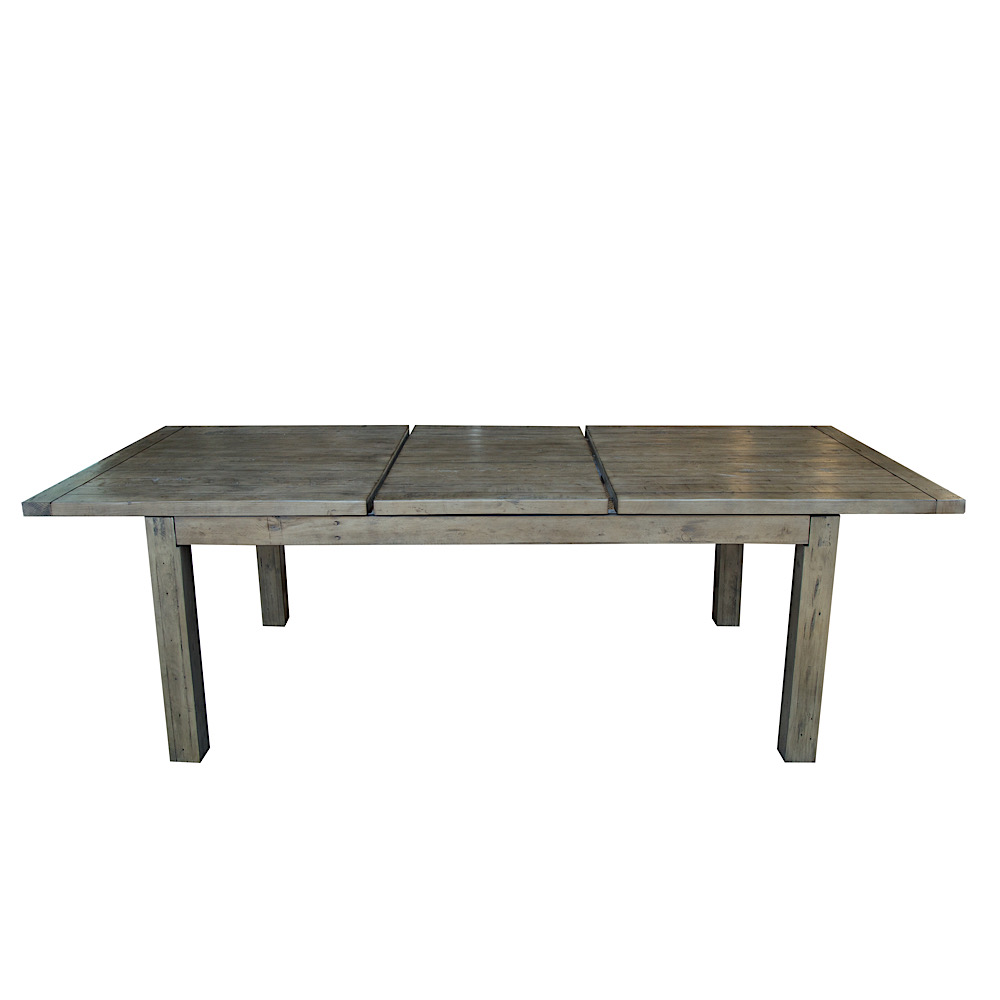 WAREHOUSE SALE Coventry Large Extending Table Set in Salvage Grey